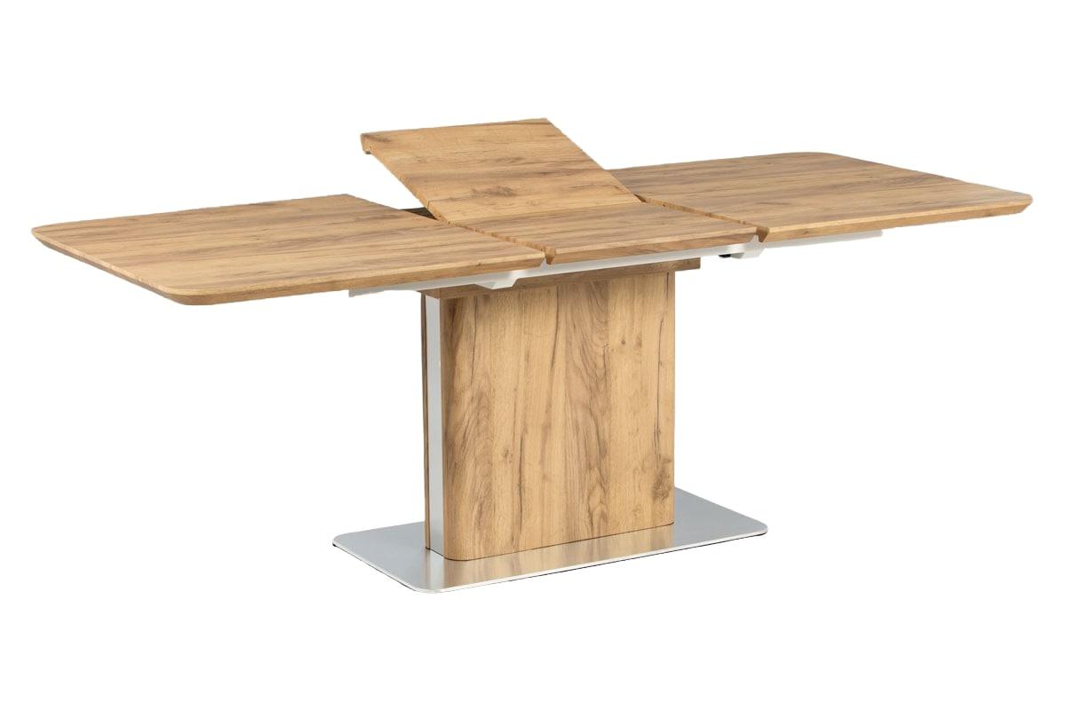 Jídelní stůl rozkládací Jersey, 160 cm, dub