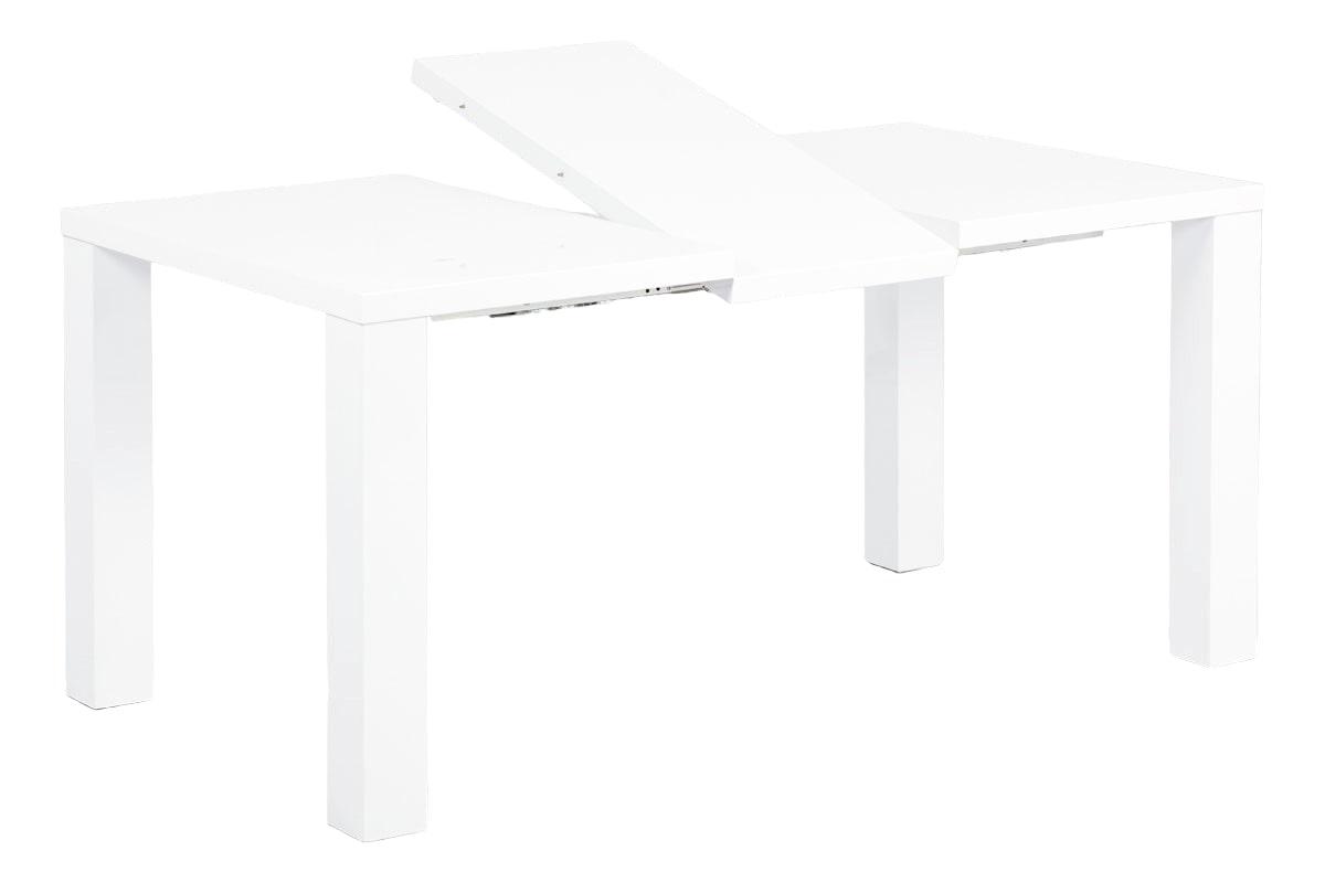 Jídelní stůl rozkládací Lucia, 160 cm, bílá
