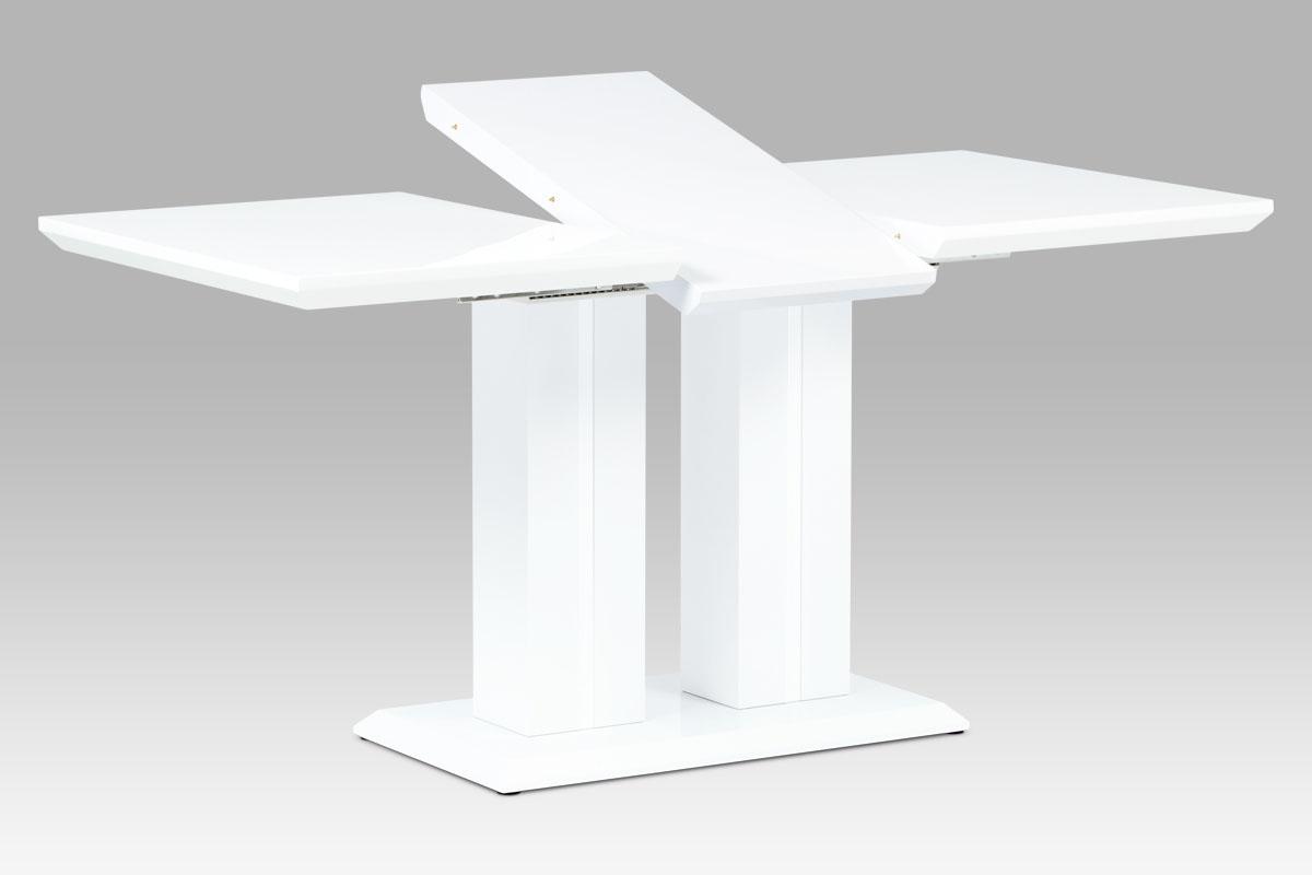 Jídelní stůl rozkládací Nevada, 160 cm, bílá