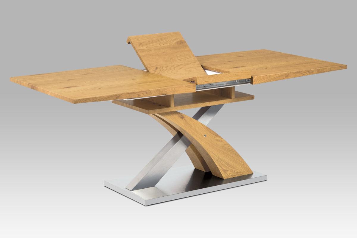 Jídelní stůl rozkládací Norfolk, 160 cm, dub