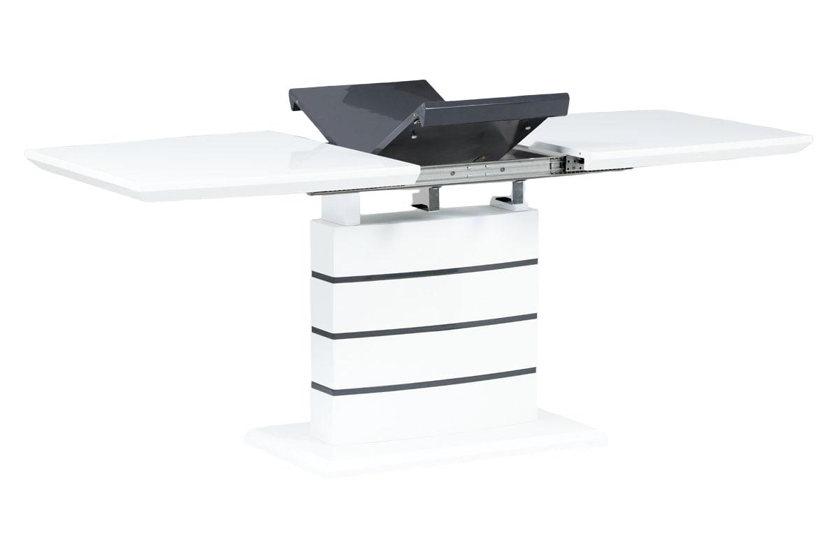 Jídelní stůl rozkládací Omaha, 180 cm, bílá
