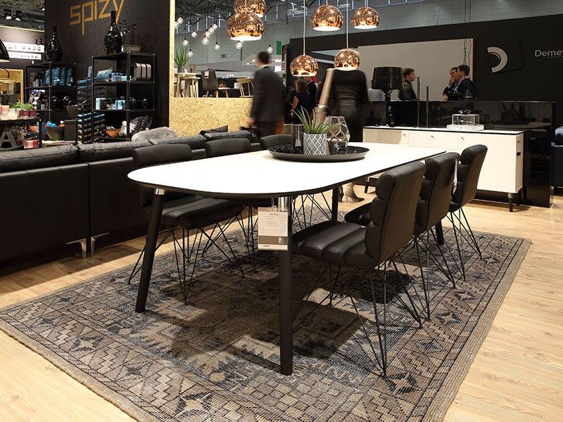 Jídelní stůl rozkládací Polo, 280 cm, dřevěné nohy