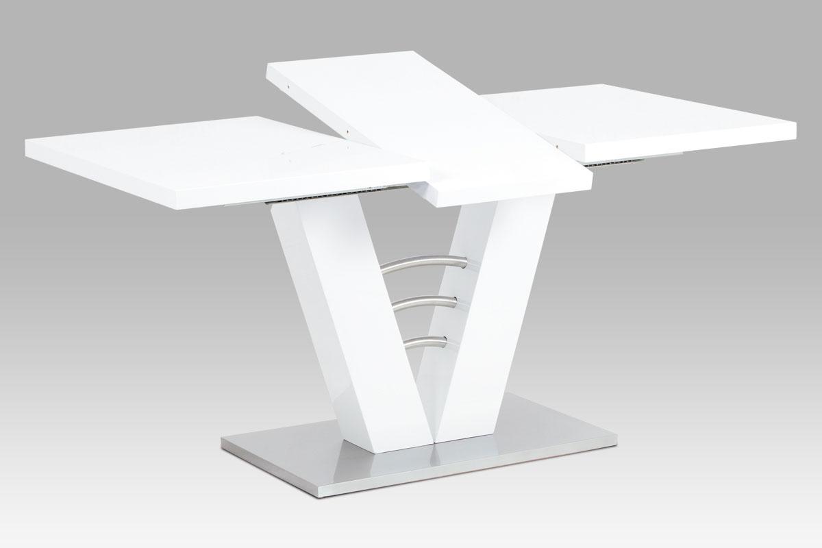 Jídelní stůl rozkládací Victory, 120 cm, bílá
