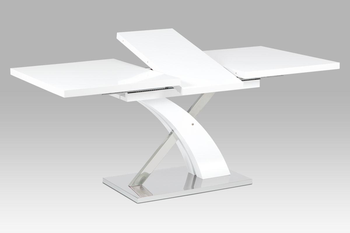 Jídelní stůl rozkládací Vista, 180 cm, bílá