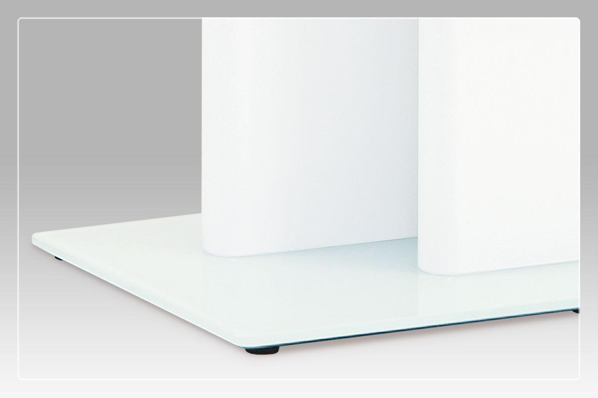 Jídelní stůl rozkládací Wichitta, 120 cm, bílá