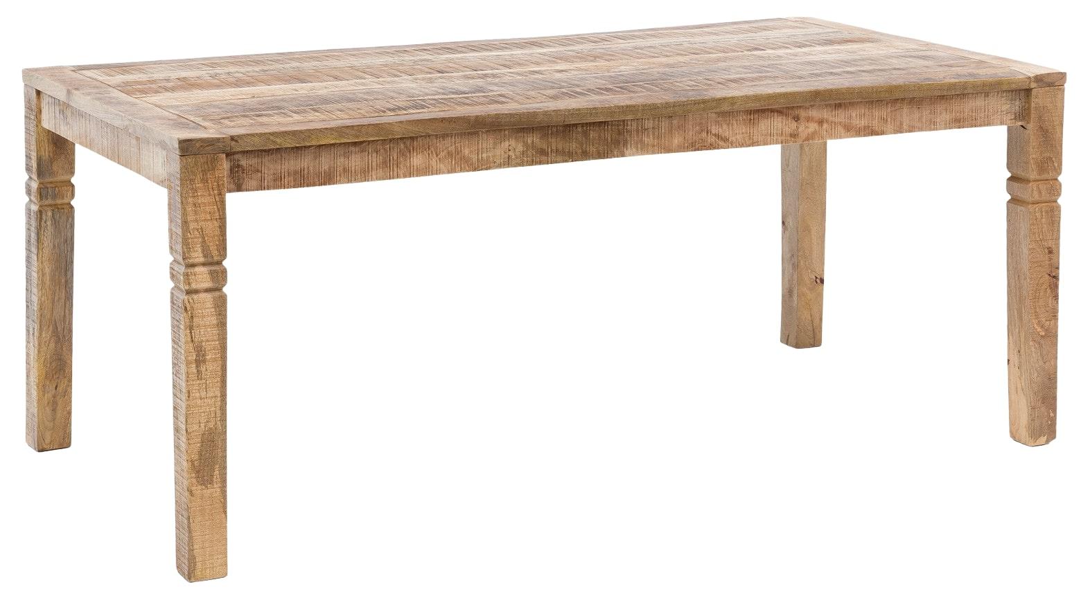 Jídelní stůl Rustica, 120 cm, mangové dřevo