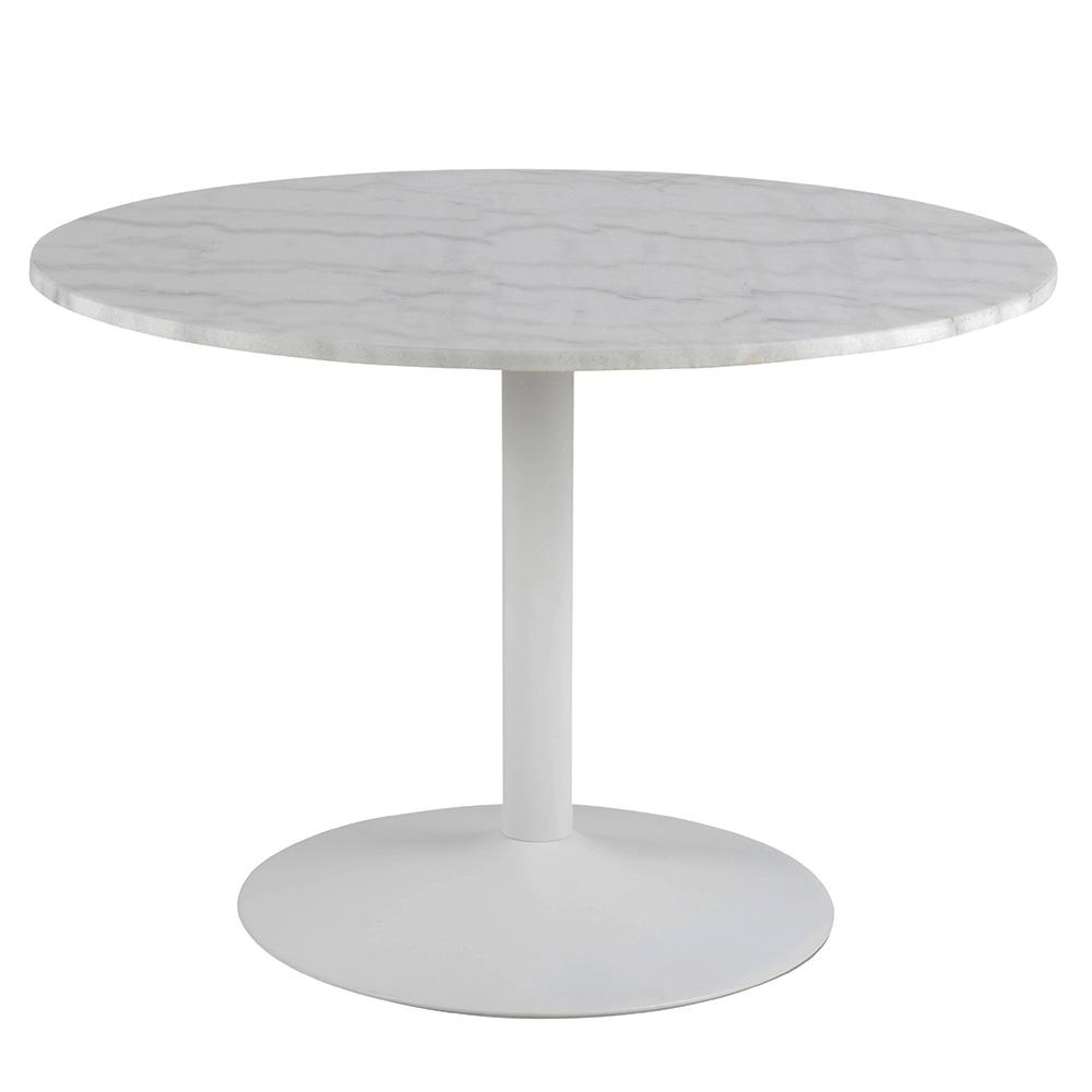 Jídelní stůl s mramorovou deskou Tenerife, 110 cm