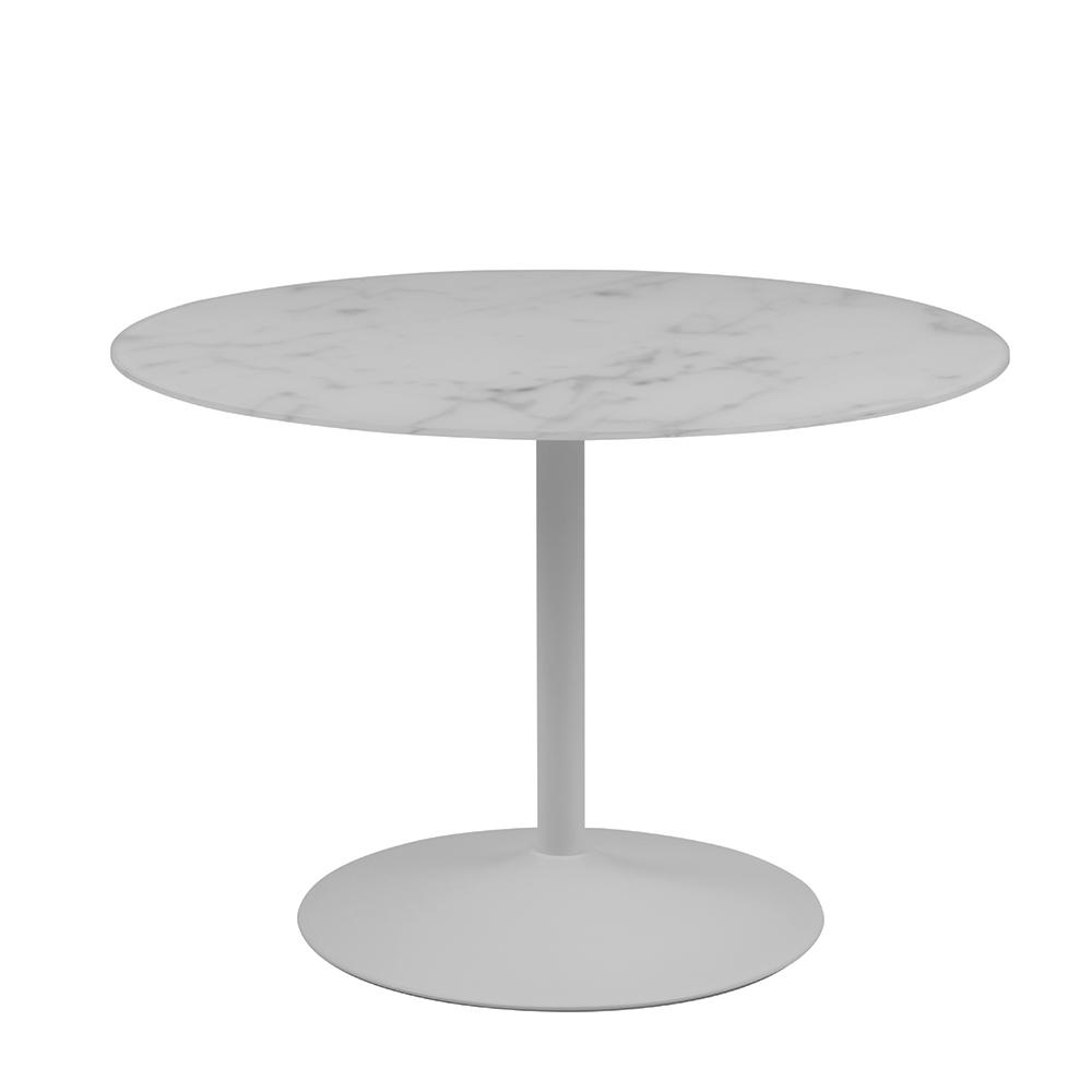 Jídelní stůl se skleněnou deskou Tenerife, 110 cm