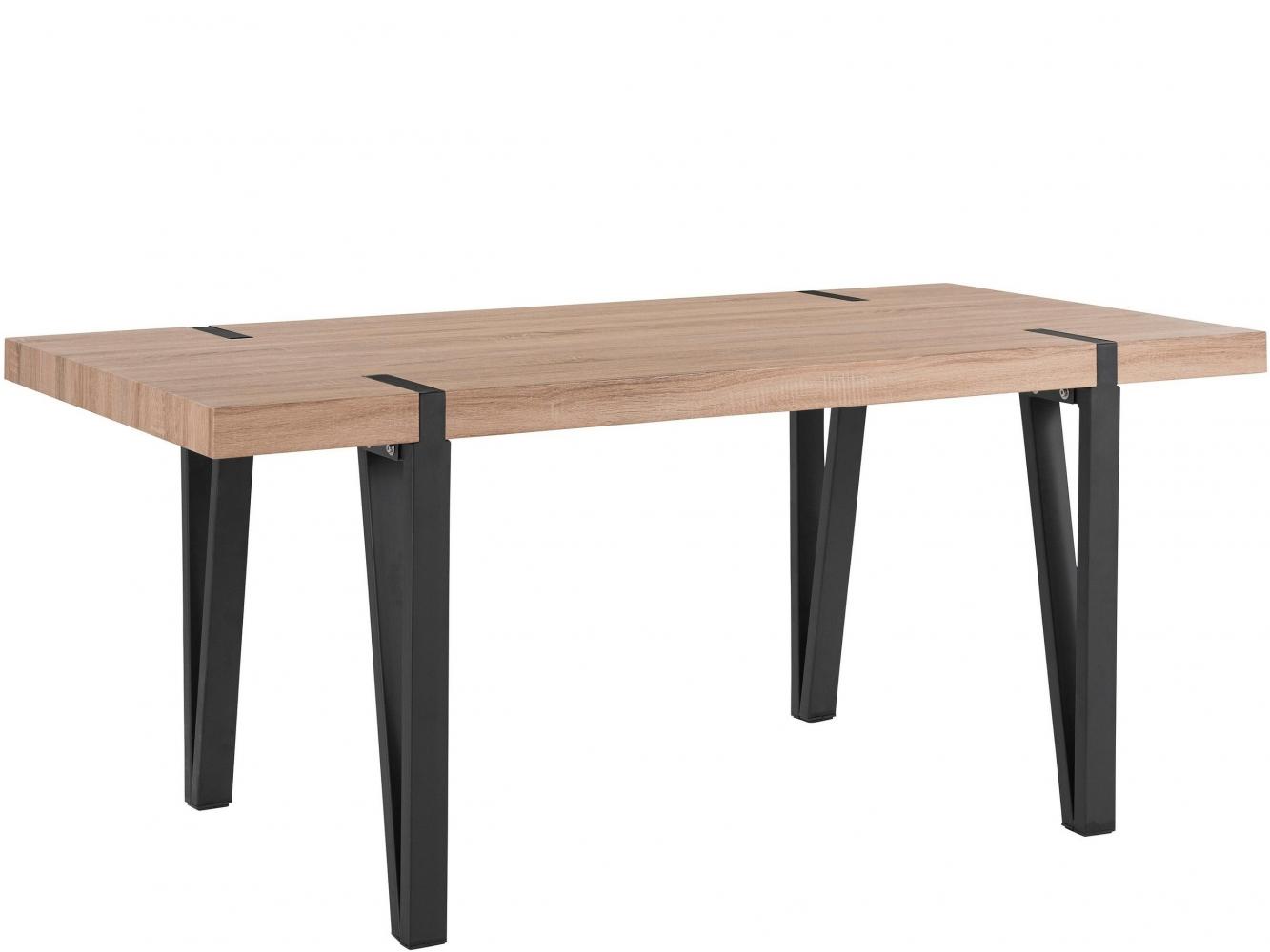 Jídelní stůl Shely, 180 cm, černá