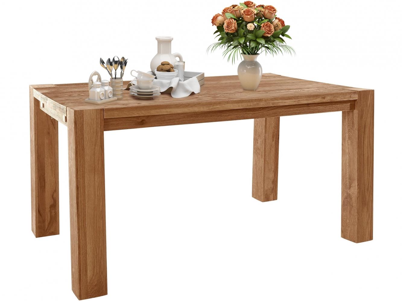 Jídelní stůl Sibera, 160 cm, dub