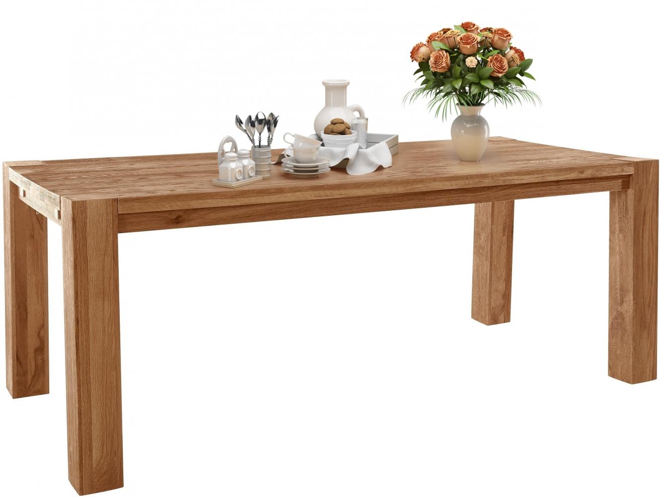 Jídelní stůl Sibera, 200 cm, dub