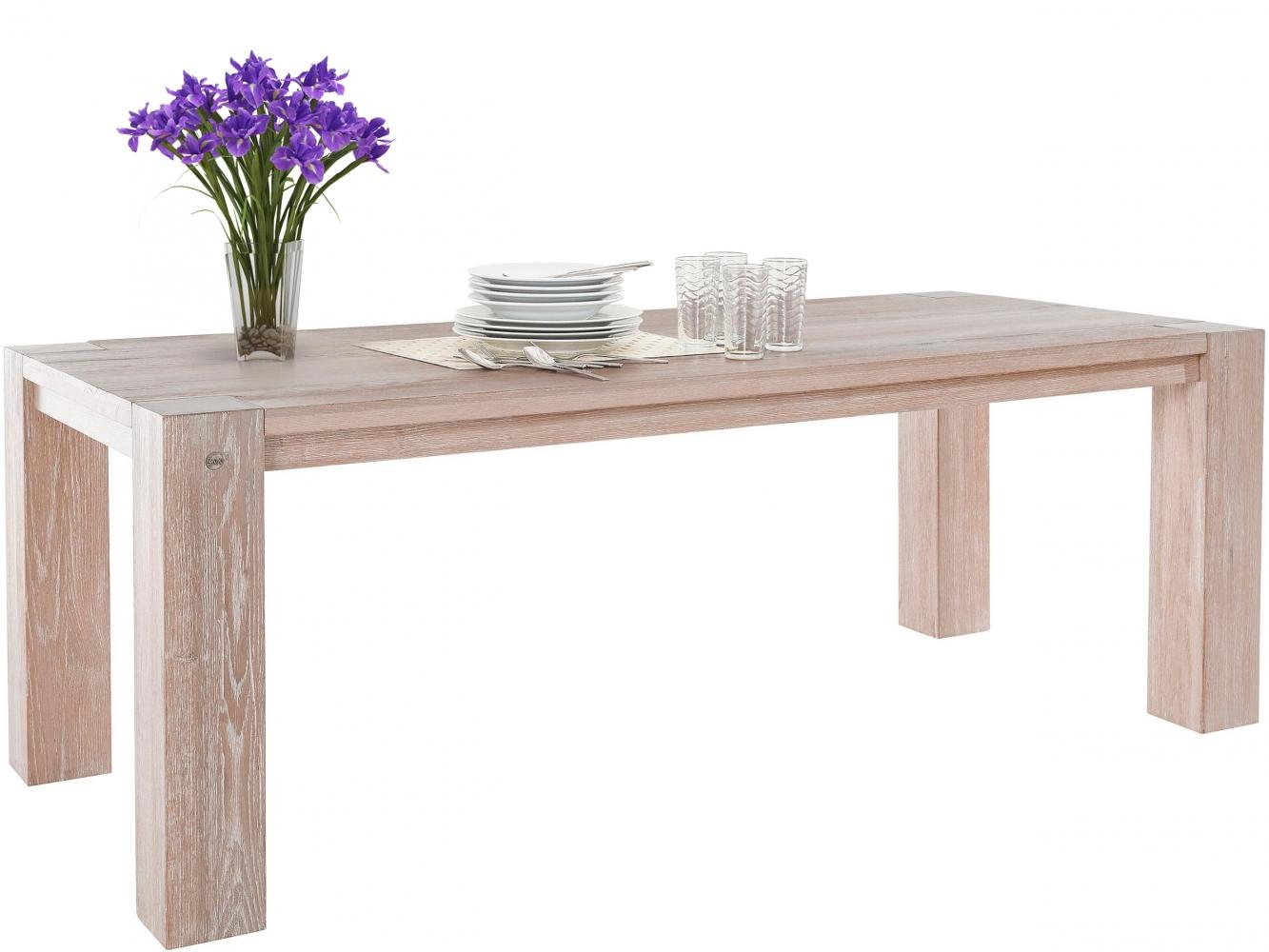 Jídelní stůl Sibera, 220 cm, bílá