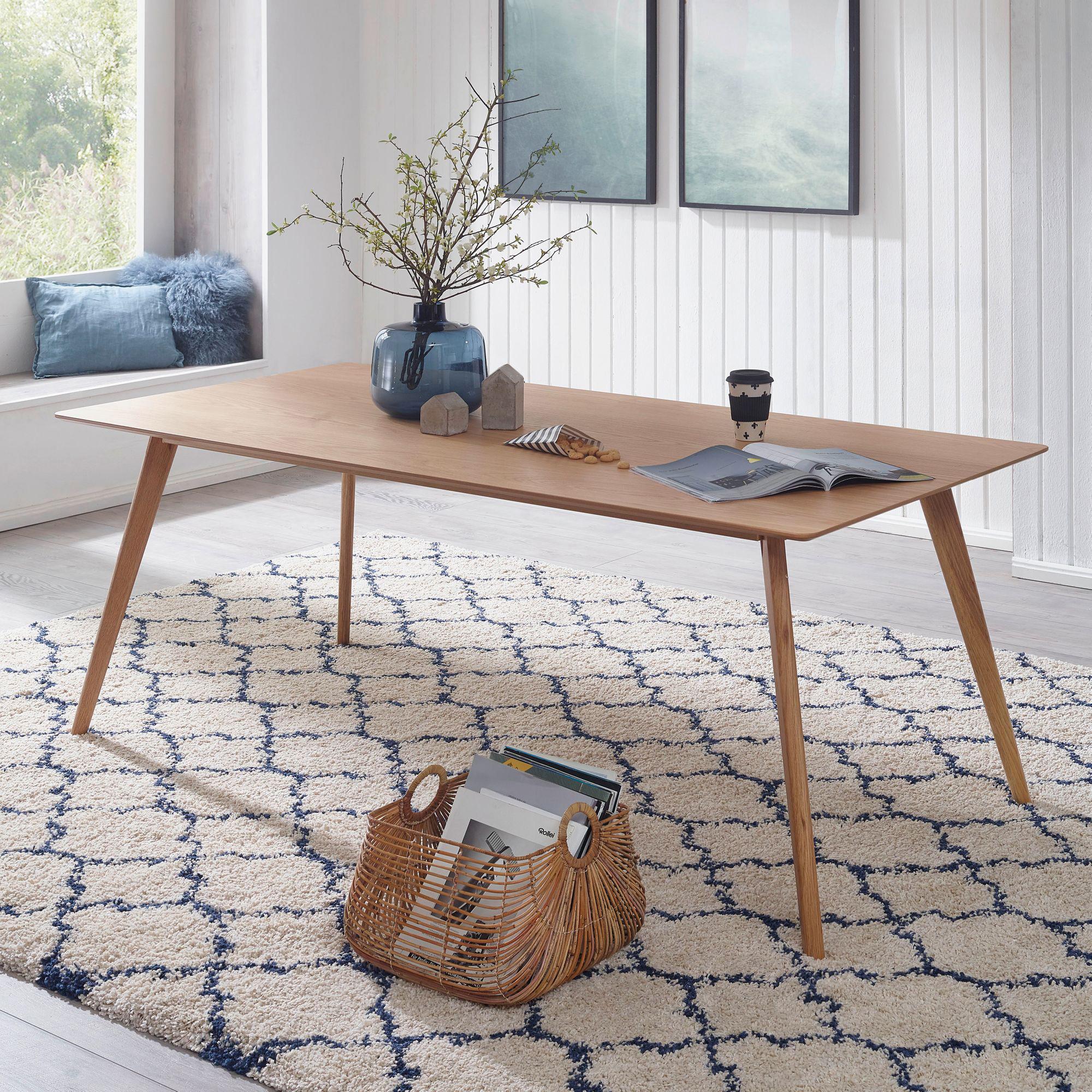 Jídelní stůl Skara, 180 cm, dub