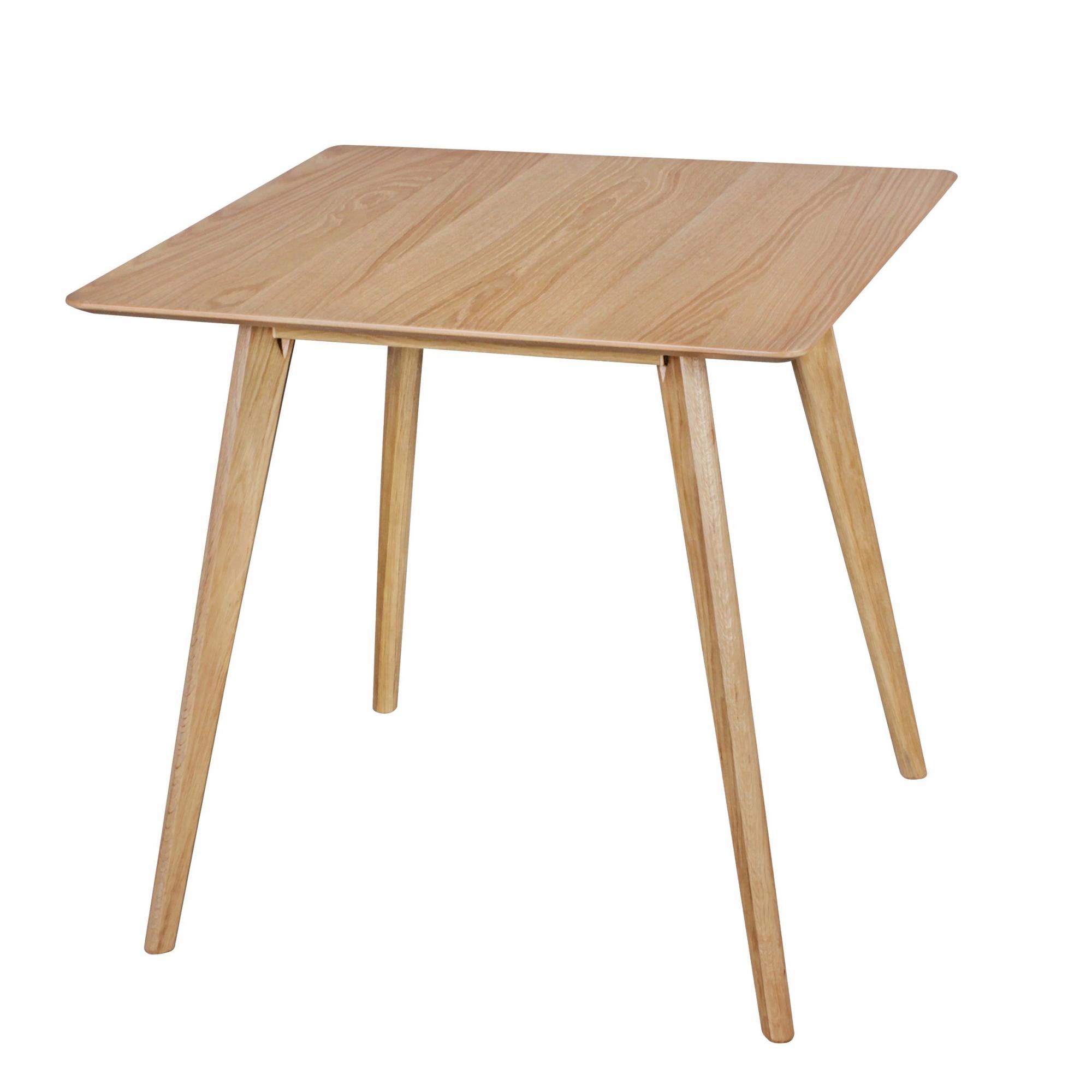 Jídelní stůl Skara, 80 cm, dub