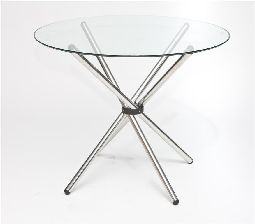 Jídelní stůl skleněný Karl, 90 cm