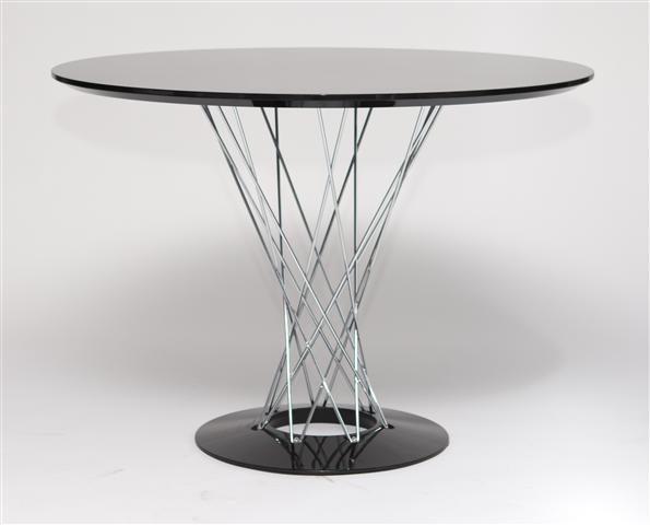 Jídelní stůl Spiral, 100 cm, černá
