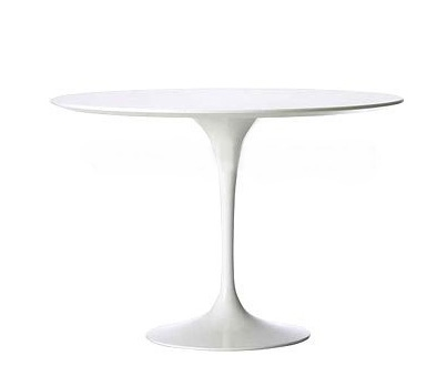 Jídelní stůl Tatiana, 120 cm, bílá