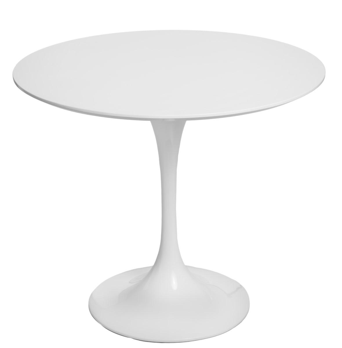 Jídelní stůl Tatiana, 90 cm, bílá