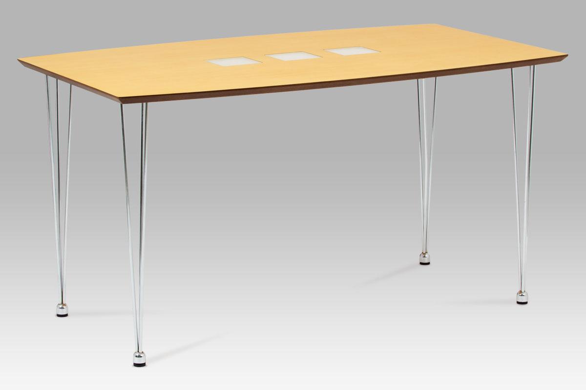 Jídelní stůl Tempe, 135 cm, hnědá