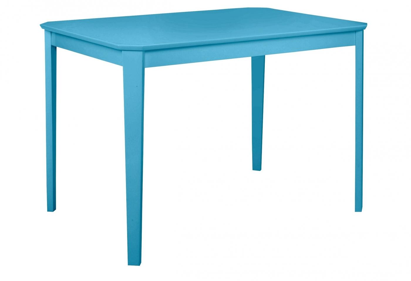 Jídelní stůl Treno, 110 cm, modrá