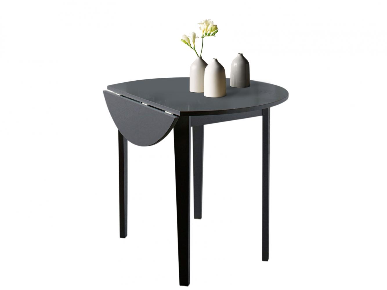 Jídelní stůl Treno, 92 cm, černá