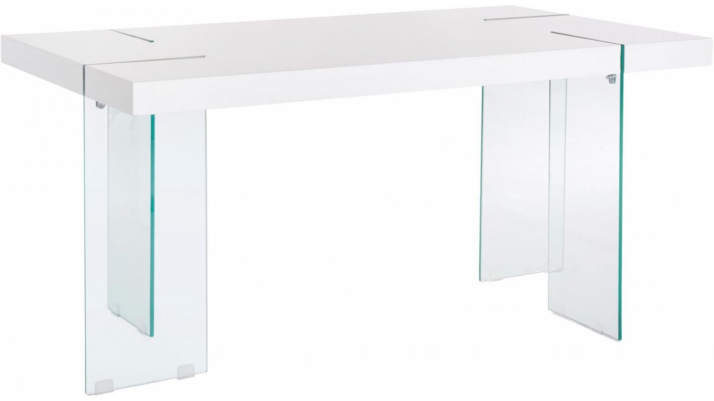 Jídelní stůl Trito, 160 cm, bílá