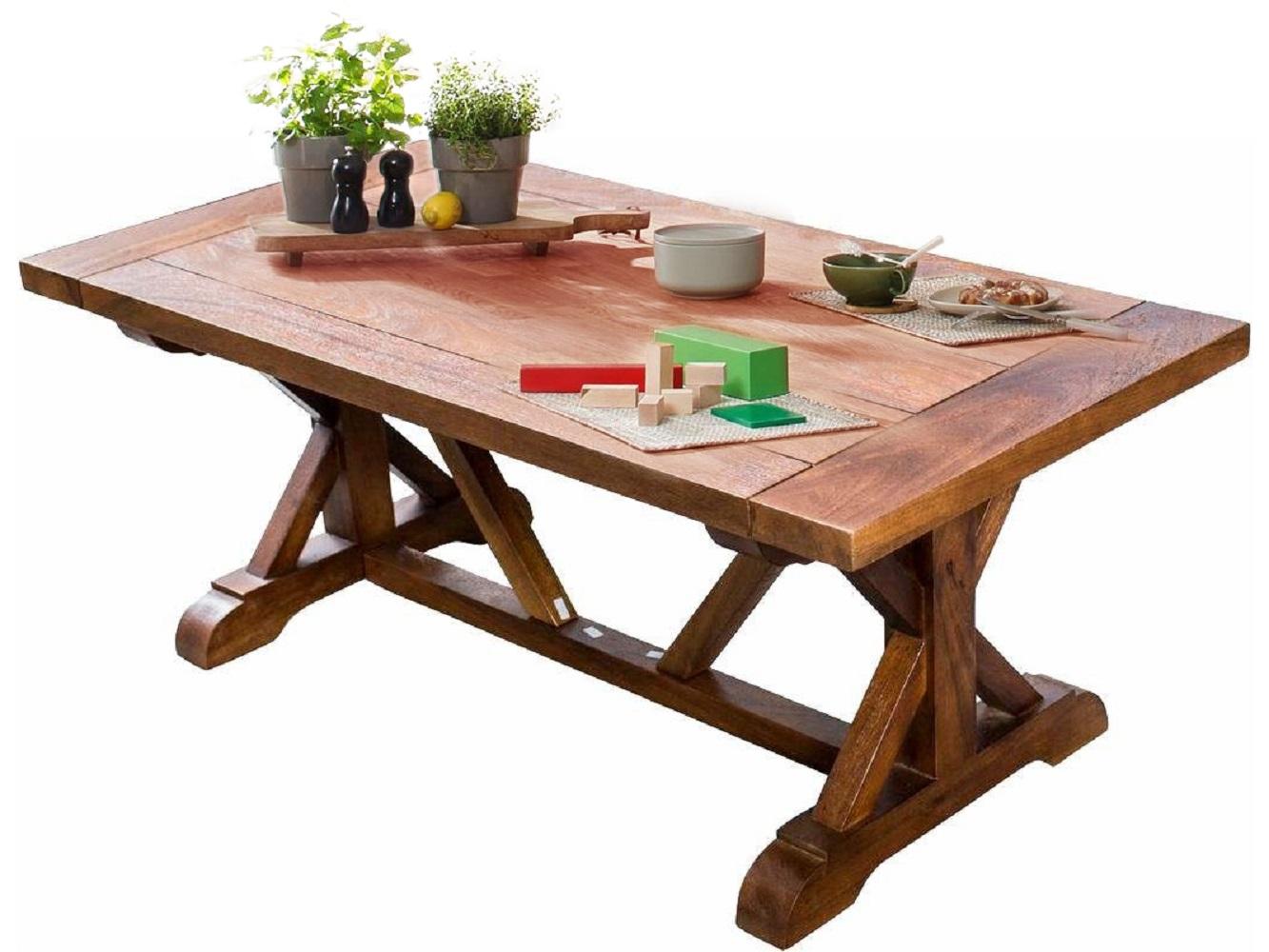 Jídelní stůl Venture, 220 cm, masivní mango