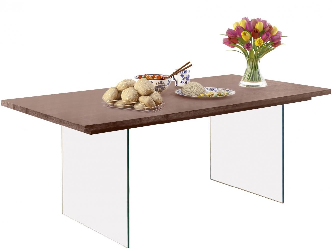 Jídelní stůl Vive, 180 cm, hnědá