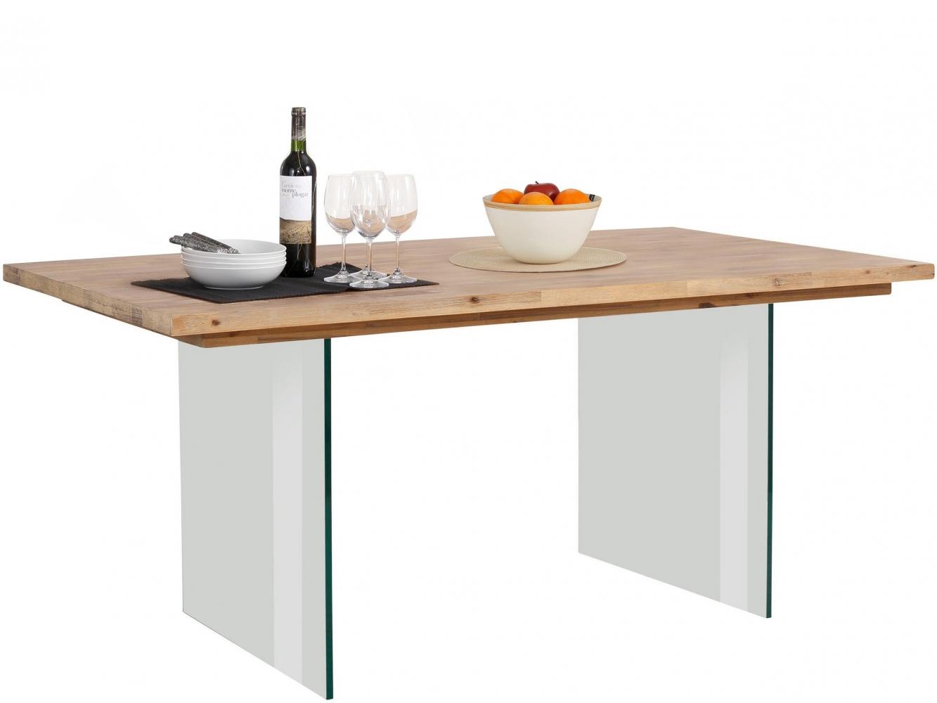 Jídelní stůl Vive, 180 cm, masivní akát