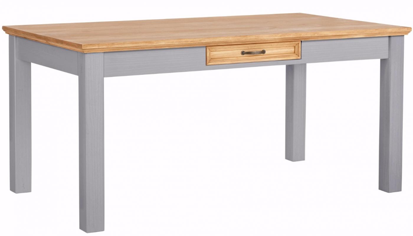 Jídelní stůl Yvet, 160 cm, šedá