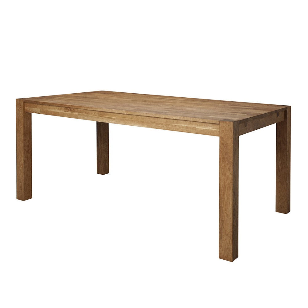 Jídelní stůl z masivu Boost, 180 cm, dub