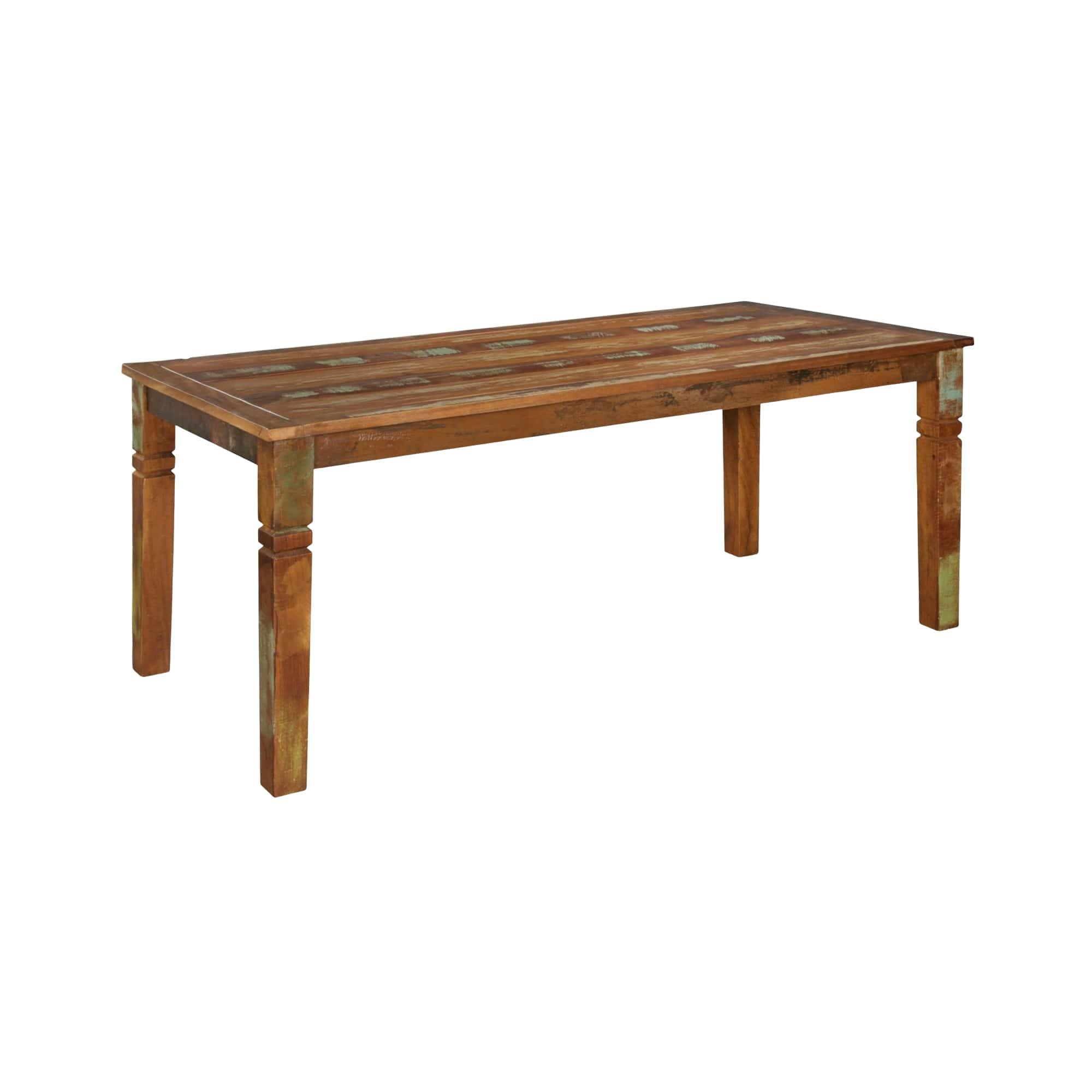 Jídelní stůl z recyklovaného dřeva Kalkutta, 180 cm, mango