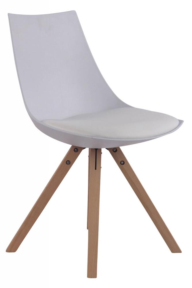 Jídelní židle Albert, bílá