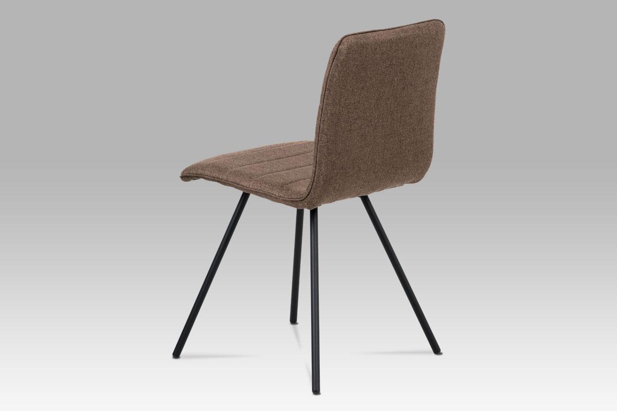 Jídelní židle Amy (SET 4 ks), hnědá