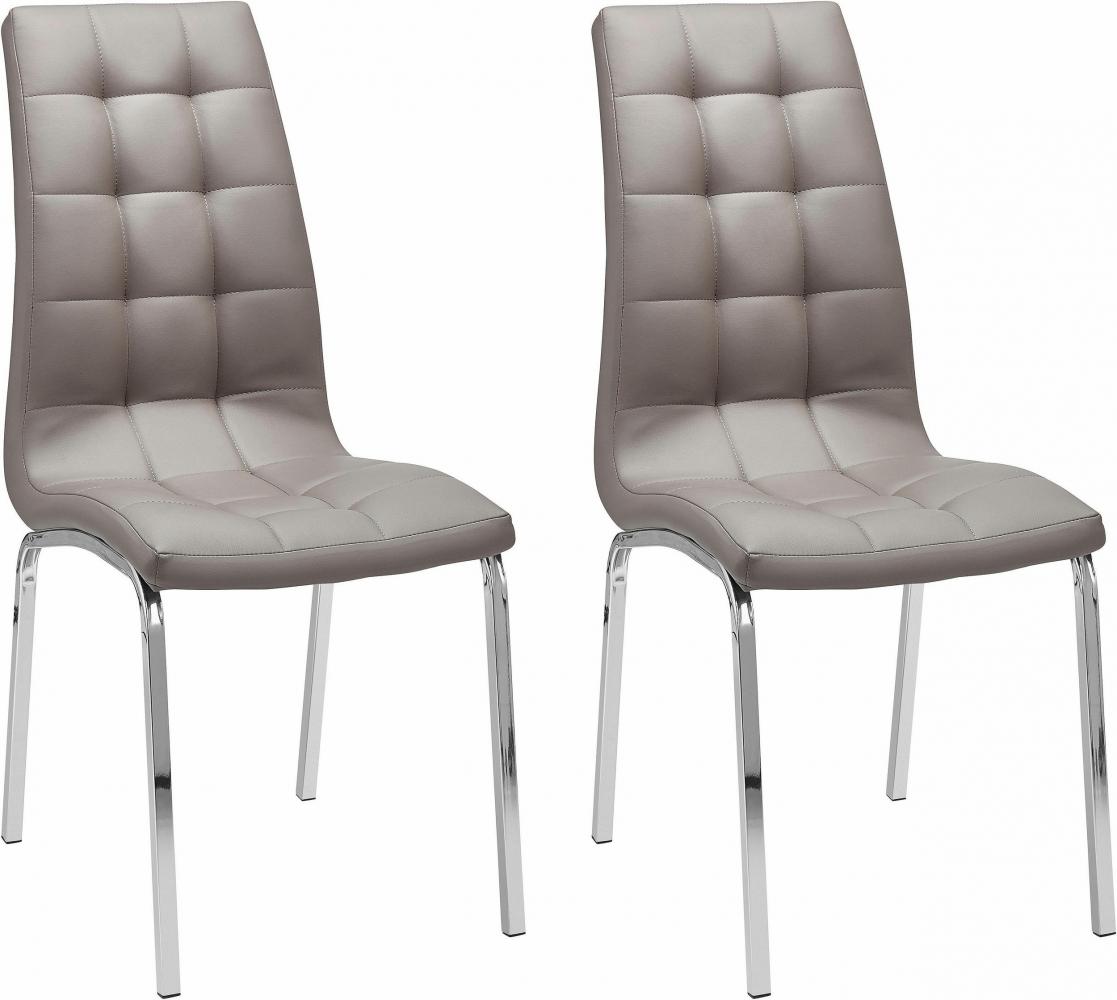 Jídelní židle Anina (SET 2 ks), cappuccino