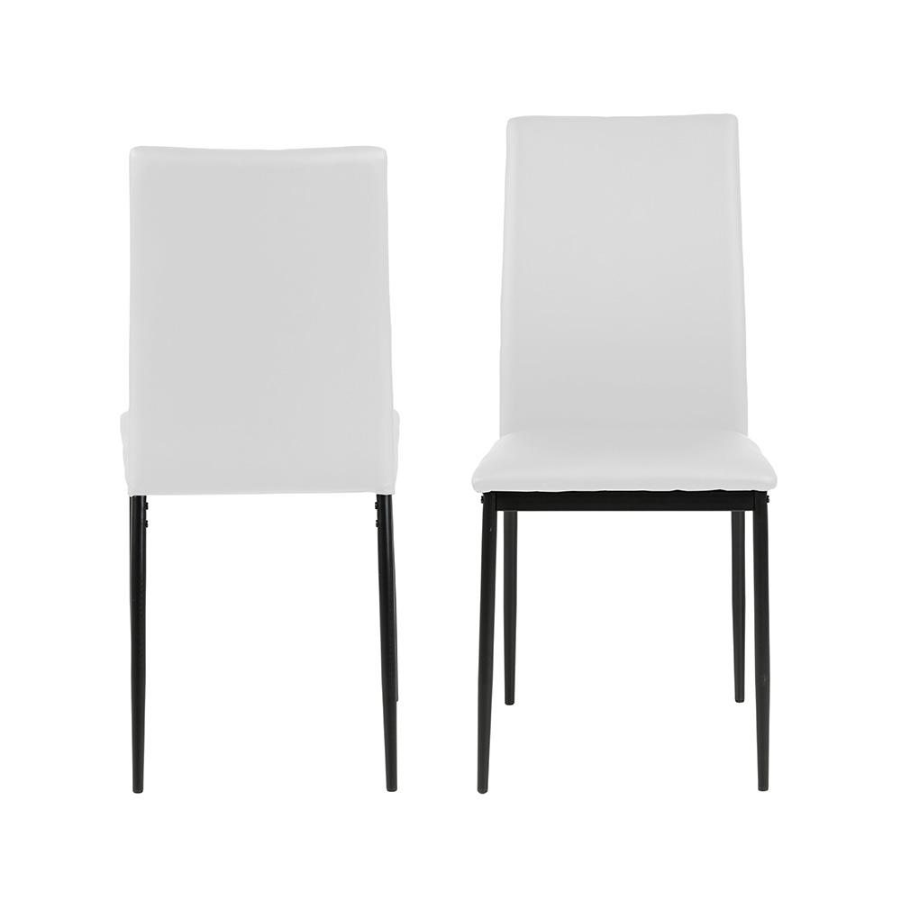 Jídelní židle Anis (SET 4 ks), bílá