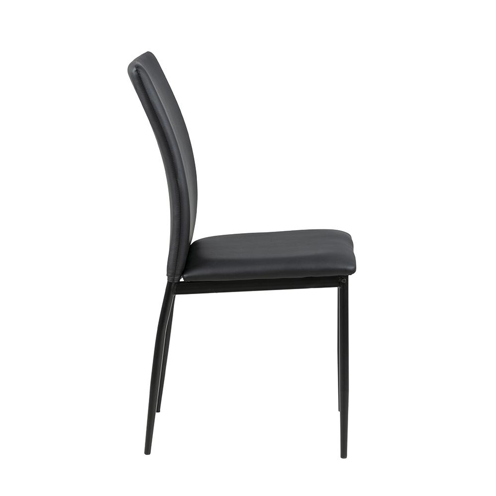 Jídelní židle Anis (SET 4 ks), černá