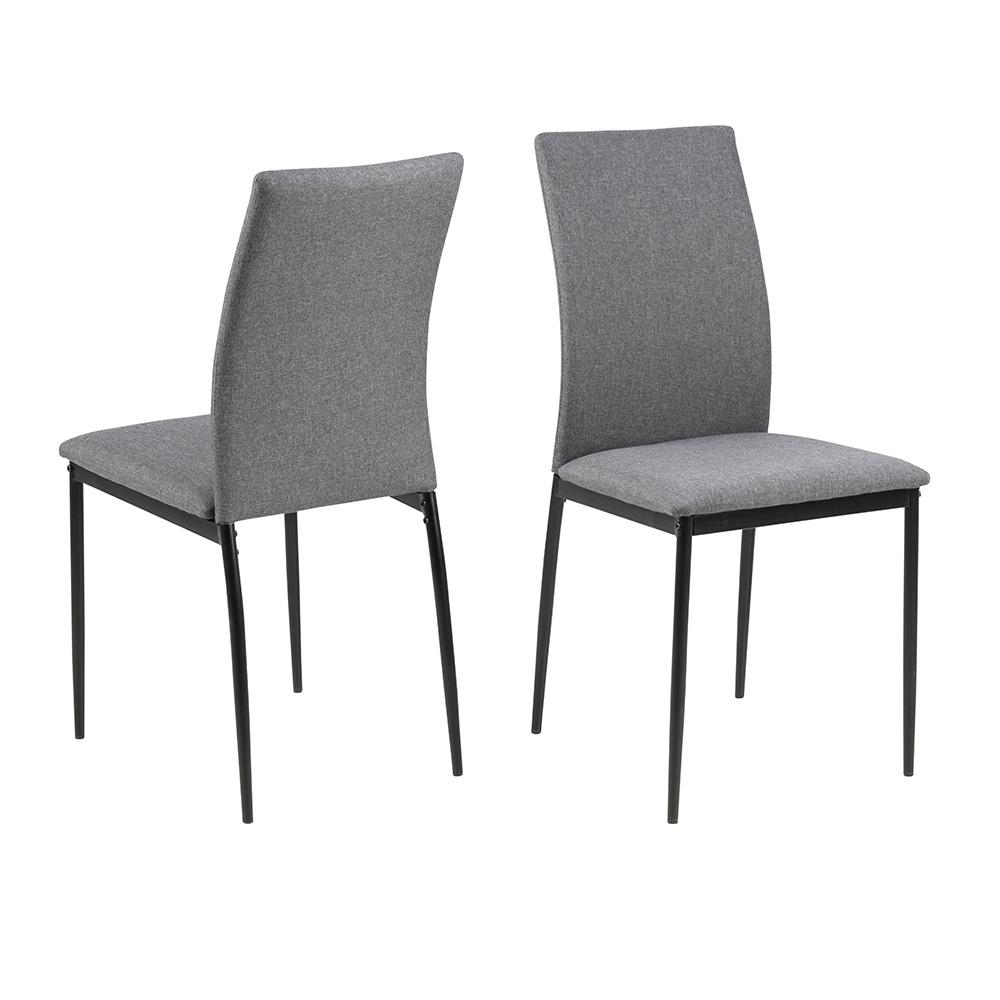 Jídelní židle Anis (SET 4 ks), šedá