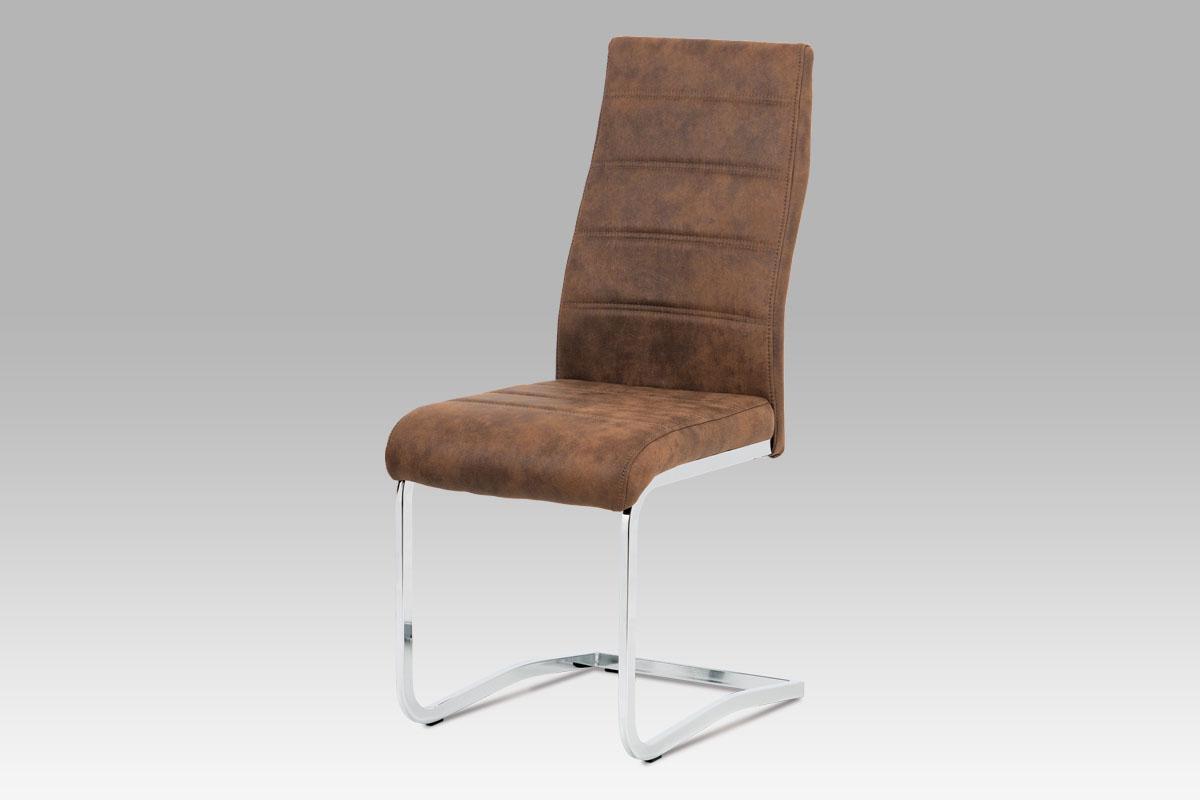 Jídelní židle Aran, hnědá