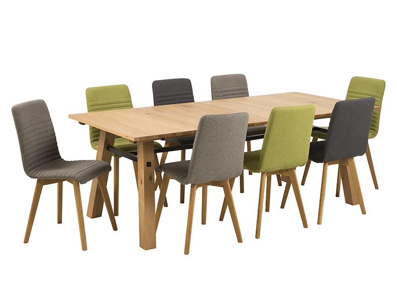 Jídelní židle Areta (SET 2 ks), šedá