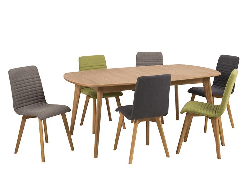 Jídelní židle Areta (SET 2 ks),  zelená
