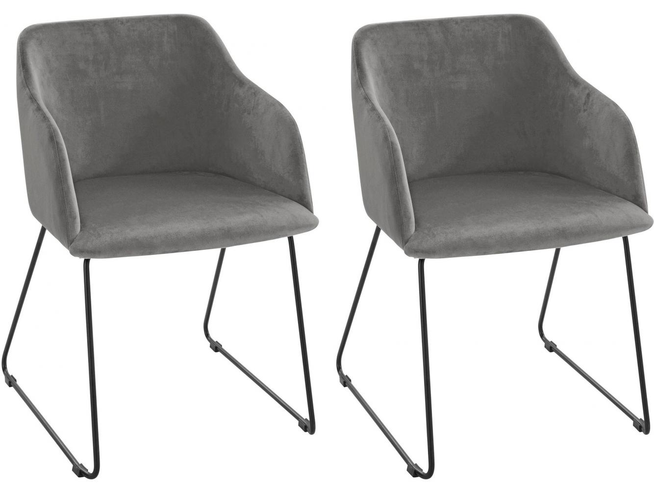 Jídelní židle Balun, šedá