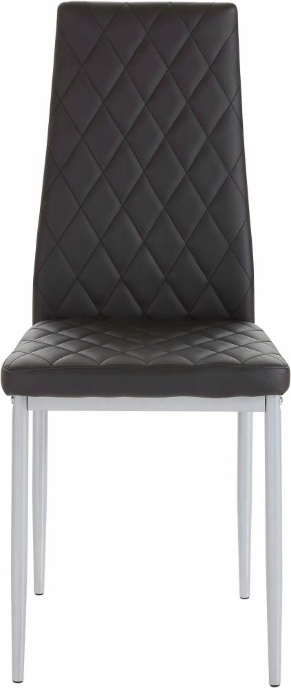 Jídelní židle Bark (SET 4 ks), černá