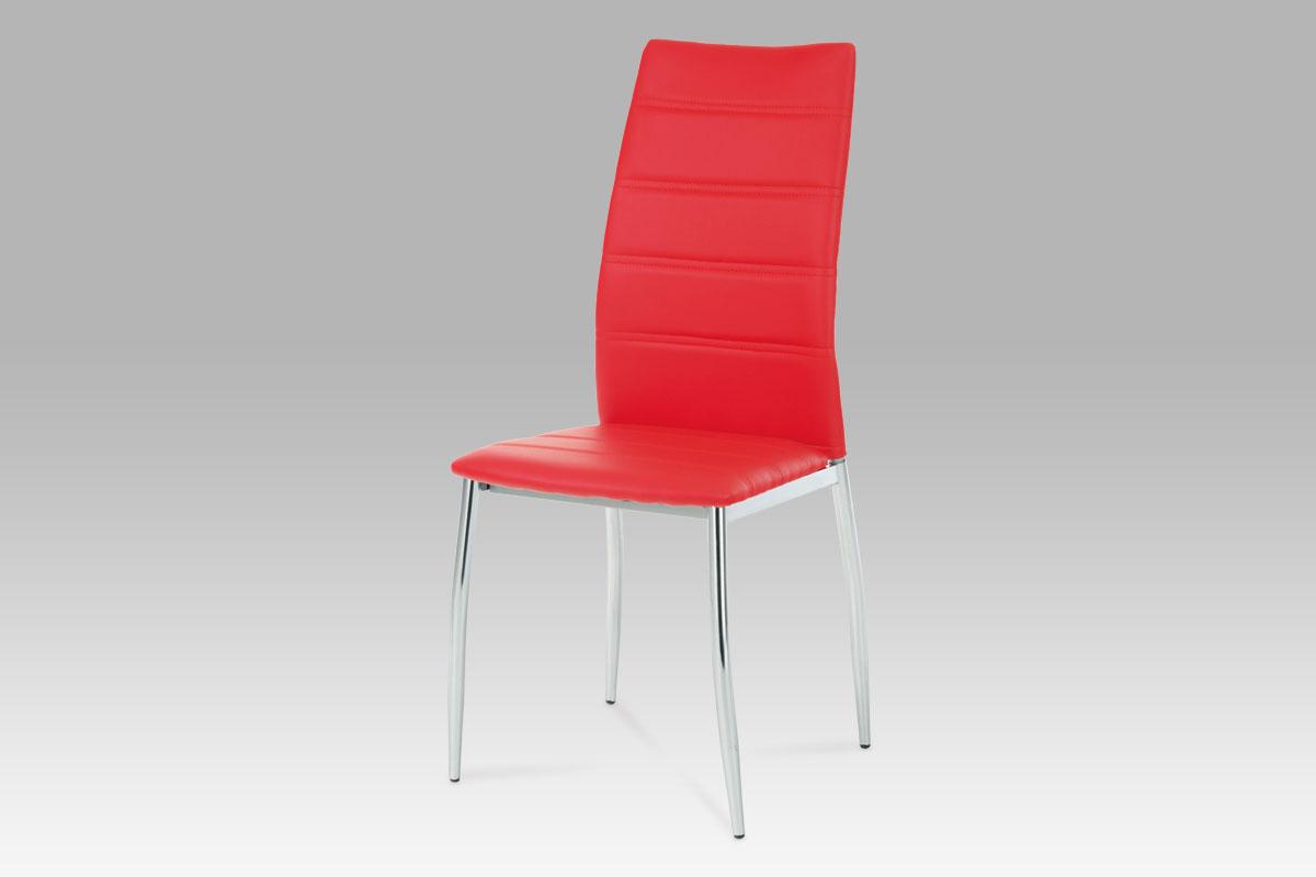Jídelní židle Berta, červená