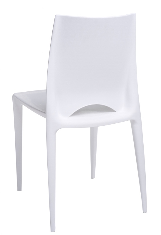 Jídelní židle Bien, bílá