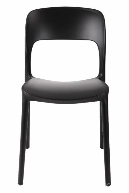 Jídelní židle Blod, černá