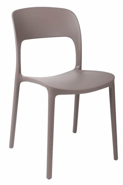 Jídelní židle Blod, šedá
