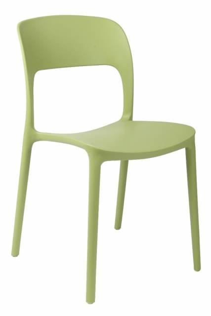 Jídelní židle Blod, zelená