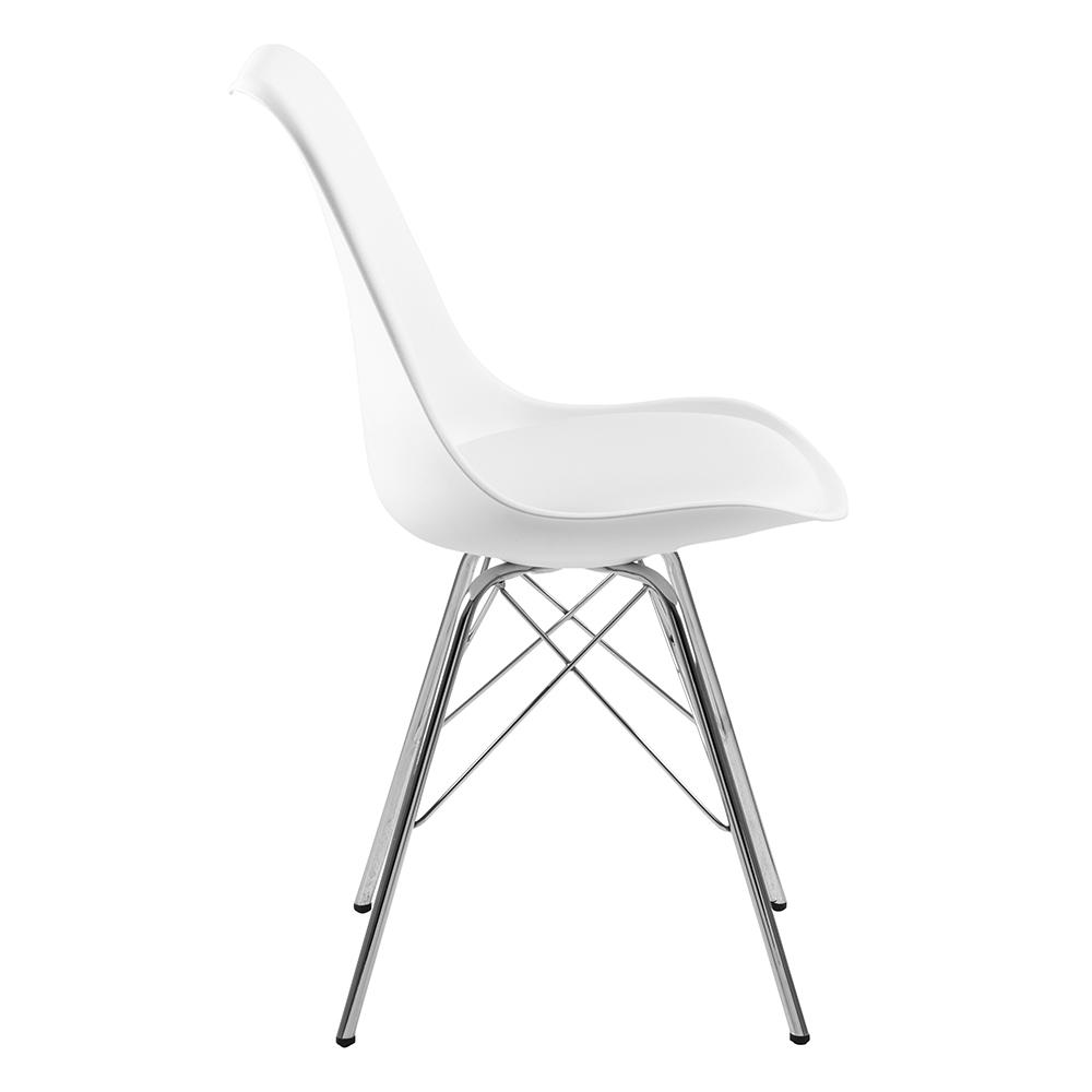 Jídelní židle Blume (SET 4 ks), bílá