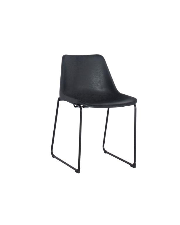Jídelní židle Britain, vintage černá